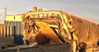Frecciarossa deraglia vicino a Lodi, le immagini dei soccorsi dei Vigili del Fuoco