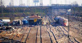 """Treno deragliato, gli operai lavoravano su """"un'anomalia segnalata dal sistema"""". Rete ferroviaria italiana li sposta ad altro incarico"""