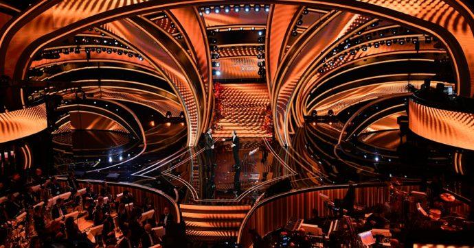 Sanremo 2020, la scenografia dell'eterno Castelli non ha niente di contemporaneo