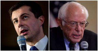 """Primarie dem, in Iowa Buttigieg vince con un distacco dello 0,1%: """"No alle ricette estreme"""". Ma Sanders: """"Ridistribuire la ricchezza"""""""
