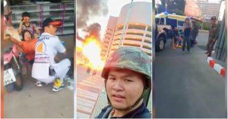 Thailandia, militare apre il fuoco davanti a un centro commerciale di Korat: almeno 12 morti. L'attacco trasmesso in diretta su Facebook