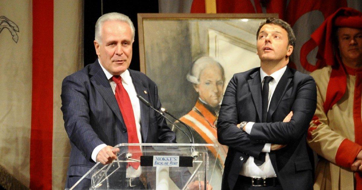 """Giani tra Renzi e Lotti: venera la Madonna e """"rispetta"""" i massoni"""