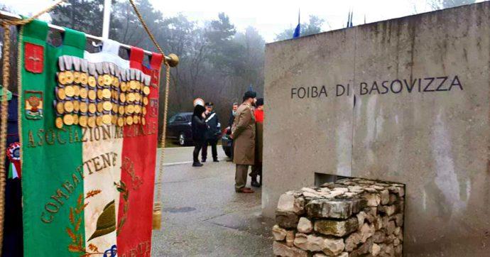 """Foibe, Gasparri parla """"in rappresentanza del Senato"""": il Pd lascia la cerimonia a Basovizza. """"Ormai è palco della destra sovranista"""""""