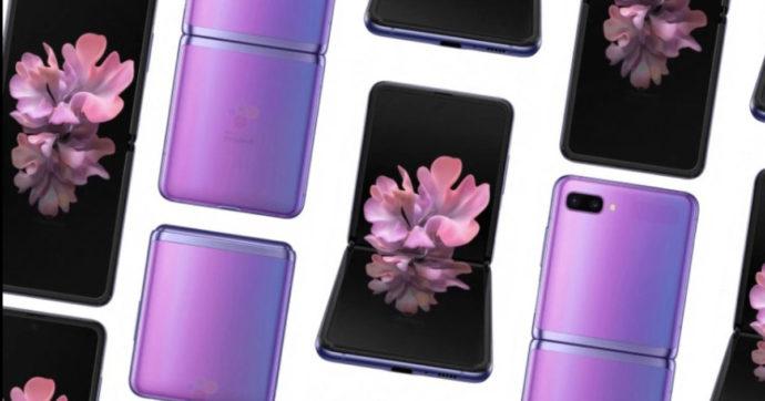 Galaxy Z Flip, Samsung svela il suo nuovo smartphone pieghevole alla notte degli Oscar