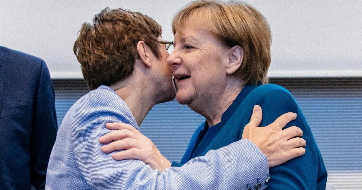 Le dimissioni di AKK. Crisi Cdu, anche Merkel non si sente tanto bene