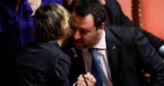 """Gregoretti, Senato dice sì al processo per Salvini: Lega esce dall'Aula. Il senatore: """"Affronto aggressione politica, decida il giudice. Sarò cavia"""""""