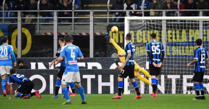 Inter-Napoli 0-1: a Conte non riesce la rimonta in stile derby. Il gol di Fabian Ruiz vale mezza finale di Coppa Italia