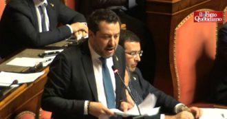 """Gregoretti, la linea di Salvini: """"In tribunale rivendicherò quanto fatto collegialmente"""". E al M5s: """"C'era, era d'accordo o non ha capito?"""""""