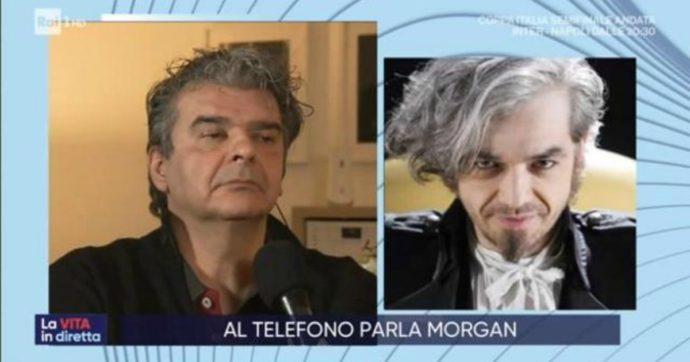 """La Vita in Diretta, lite tra Morgan e il manager di Bugo: """"Mi devi ringraziare, stai facendo il grano"""". Lui lo zittisce: """"Sei da curare, è tutto inventato"""""""