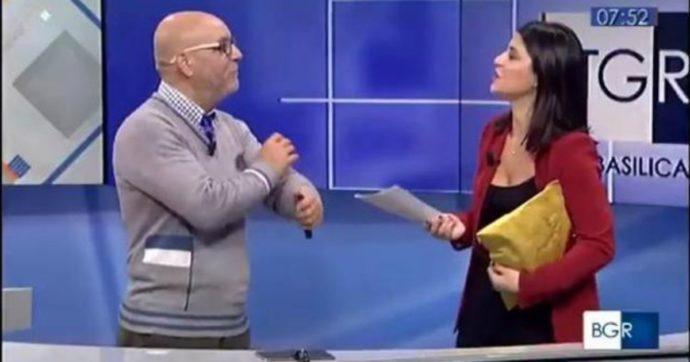 """Lo """"Psicomago"""" invitato al Tgr Rai della Basilicata fa un numero di magia ma non gli riesce: imbarazzo in diretta"""