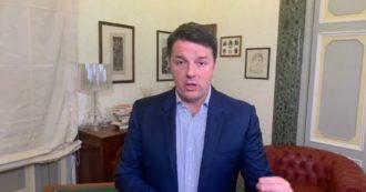 """Renzi risponde a Conte: """"Se noi siamo opposizione, voi non avete maggioranza. Vuole staccare la spina? Lo faccia"""" – Il video integrale"""
