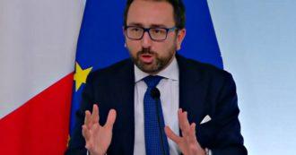 """Spazzacorrotti, Bonafede: """"Ho sentito molte cose false. La sentenza della Consulta non cambia una parola della legge"""""""