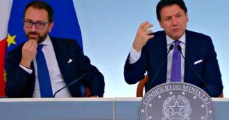 """Conte: """"Italia viva presenta sfiducia a Bonafede? Irrazionale, ne trarrò le conseguenze"""""""