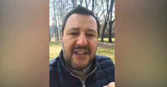 """Ue, Salvini: """"O le regole cambiano, oppure non ha senso stare in una gabbia. Meglio fare come gli inglesi"""""""