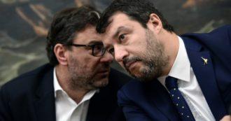 """Giorgetti allarga la spaccatura nella Lega: """"Il green pass non limita la libertà, l'aumenta"""". Letta: """"Salvini si mette all'opposizione, il suo partito non lo segue"""""""