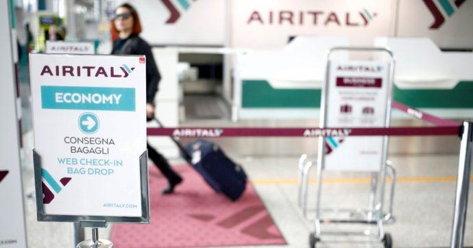 Air Italy, verso accordo su cassa integrazione e misure per ricollocare i 1.453 dipendenti della compagnia in liquidazione da febbraio