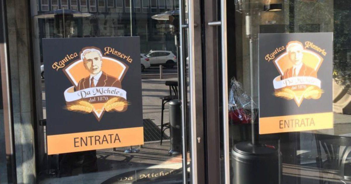 """Il Prefetto chiude pizzeria """"Da Michele"""" per infiltrazioni"""