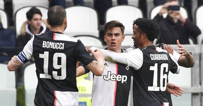 Juventus Brescia 2-0. Ritorna in campo Giorgio Chiellini: ovazione dello stadio