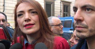 """Sardine in piazza a Roma, Jasmine Cristallo: """"Non parliamo di cambiare i decreti sicurezza, chiediamo di abrogarli. Differenza sostanziale"""""""