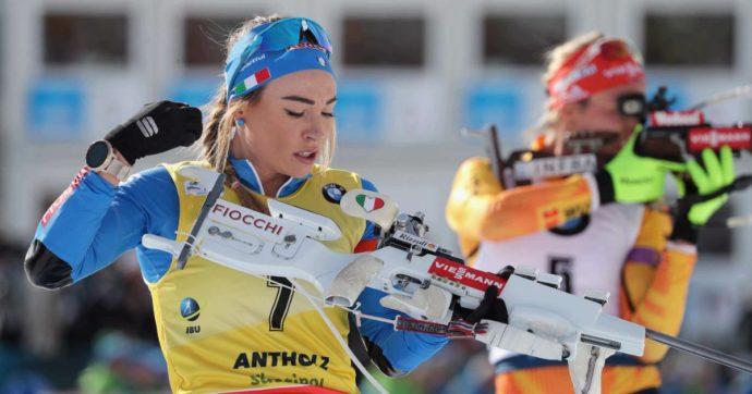 """Biathlon, medaglia d'oro per l'azzurra Dorothea Wierer nella gara a inseguimento: """"È il giorno più bello della mia vita"""""""