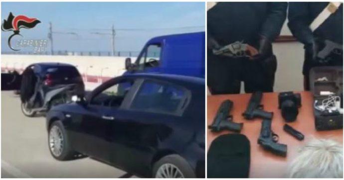 Bari, cantante neomelodico e rapper simulano assalto a portavalori per girare un video musicale: fermati e segnalati alla procura