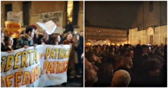 """Patrick George Zaki, a Bologna il corteo per il ricercatore arrestato in Egitto. Il sindaco Merola: """"Vogliamo la sua libertà"""""""