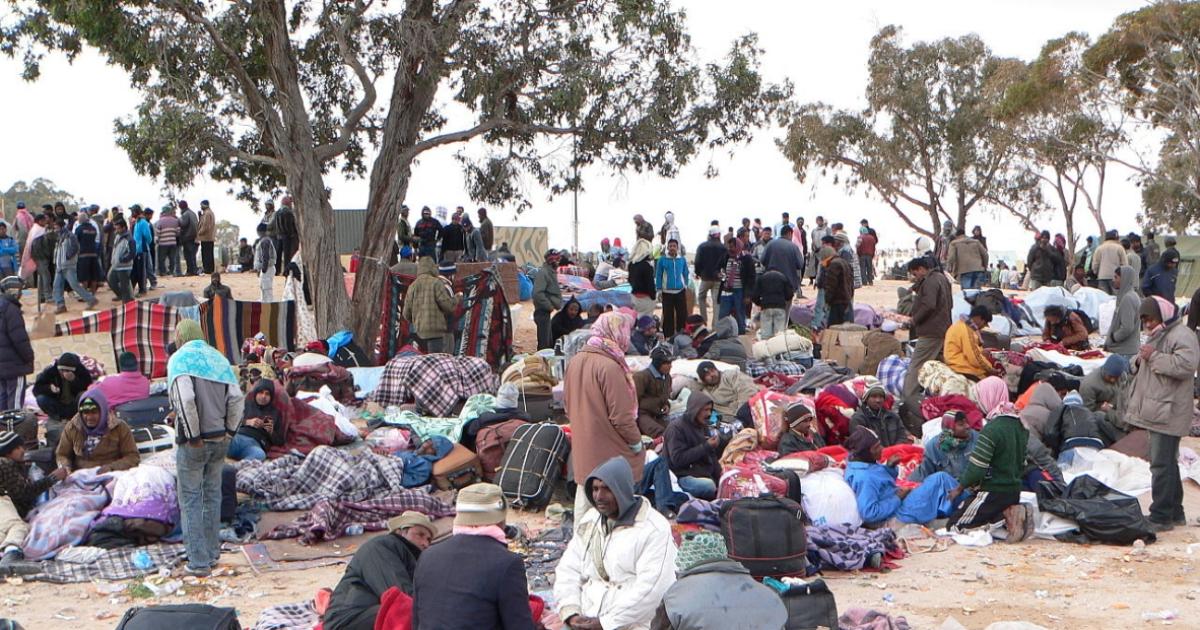 I rischi ambientali aumentano in caso di conflitti. E nei campi profughi tutto si complica