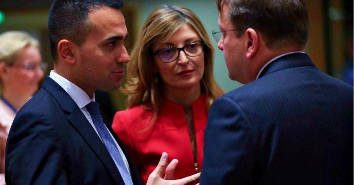 """Libia, Di Maio dopo il Consiglio Ue dei ministri degli Esteri: """"Trovato l'accordo per una missione che blocchi il flusso di armi"""""""