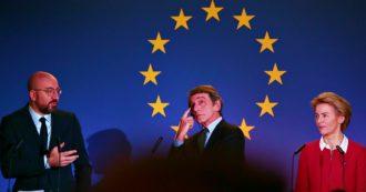 Bilancio Ue, la proposta del Consiglio ai capi di Stato: 1.094 miliardi contro i 1.300 chiesti dal Parlamento. E spunta la tassa sulla plastica