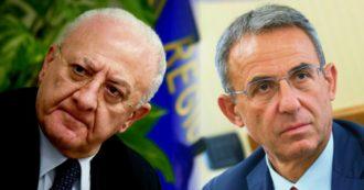 """Campania, le Sardine: """"De Luca figura divisiva verso un percorso di unità opposto alle destre"""". Costa: """"Vedremo se ci saranno le condizioni"""""""