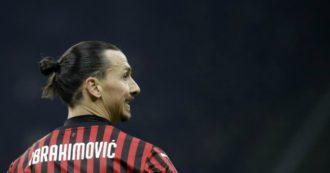 Ibrahimovic infortunato: il Milan rischia di perderlo per la ripartenza della Serie A