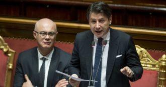 """Conte-Renzi, sfida a distanza: """"Dica cosa vuole fare"""". """"Lei in Ue ci rappresenta"""". Ma il governo è appeso all'intervista tv dell'ex premier"""