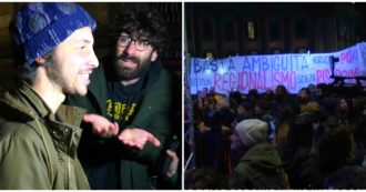 """Sardine a Napoli, contestazioni dalla platea: """"Basta ambiguità"""". Criticato anche il leader Santori. Lui: """"Ci strumentalizzano"""""""