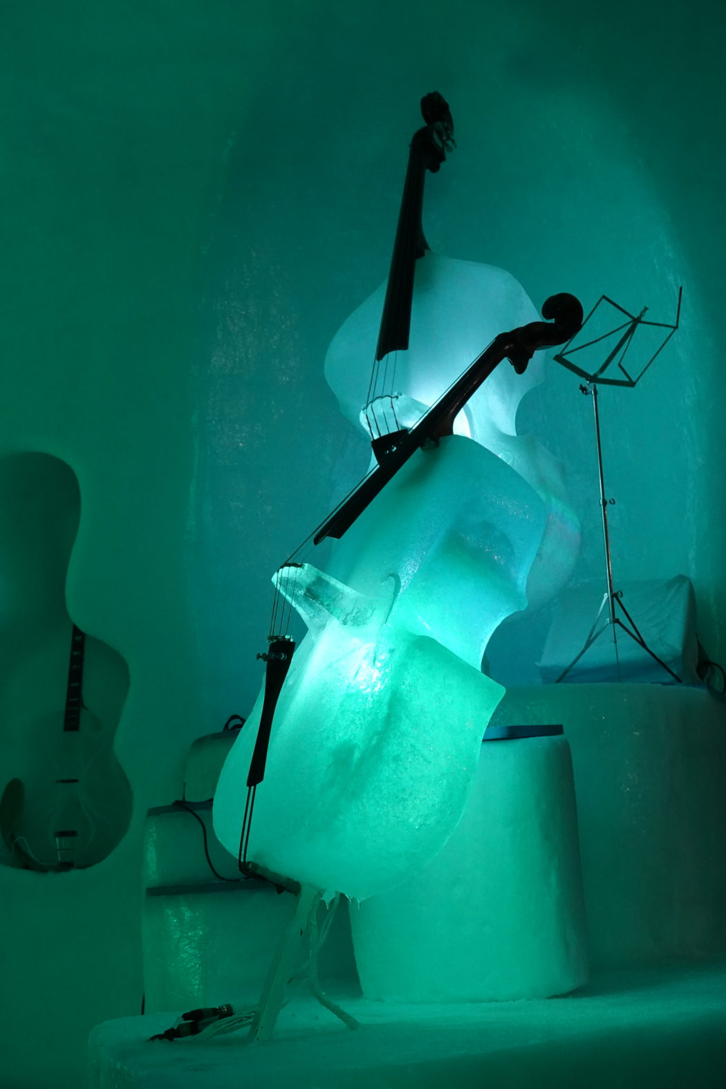 Gli strumenti di ghiaccio creati da Tim Linhart.