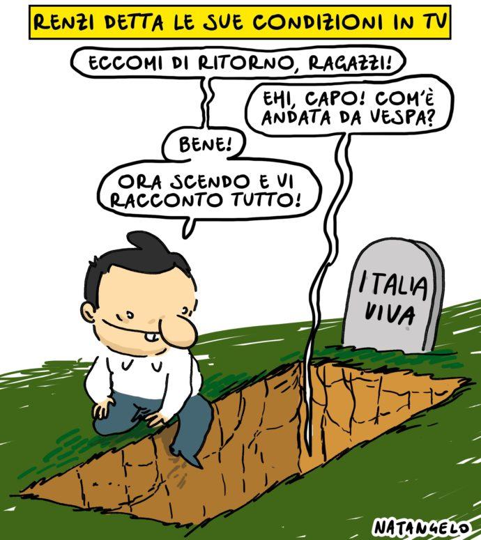 L'alba dei morti italiaviventi