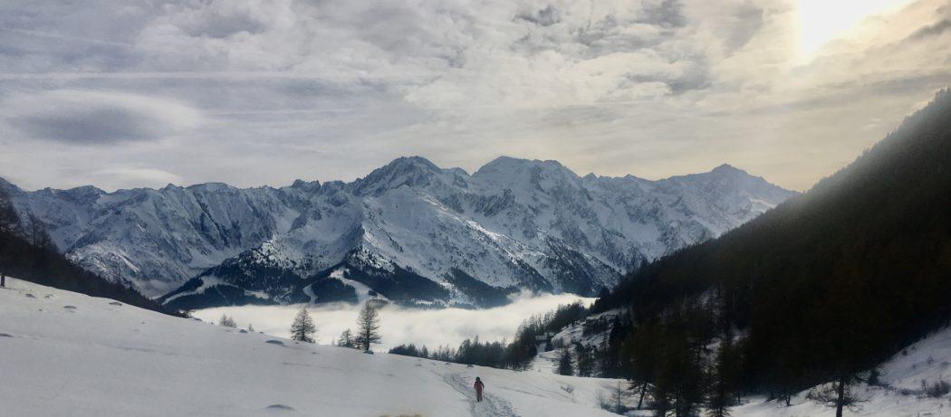 Lo spettacolo delle montagne in Val Grande.
