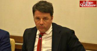 """Governo, Renzi: """"Ho chiesto a Conte un incontro, spero che questo teatrino finisca"""""""