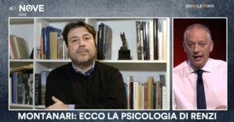 """Sono le Venti (Nove), Montanari: """"Renzi? La sua è una corsa al potere con contenuti variabili. È un carrierista mosso dalla poltrona"""""""
