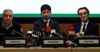 """Coronavirus in Lombardia, il ministro Roberto Speranza: """"Un piano per circoscrivere l'area"""". Conte: """"Non serve sospendere Schengen"""""""
