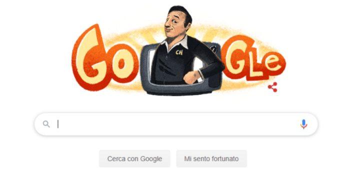 """Doodle di Google dedicato oggi a Roberto Gomez Bolaños: ecco chi è il comico conosciuto come """"Cecco della Botte"""""""
