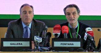 """Coronavirus, Fontana: """"Per la quarantena individuate due strutture militari a Milano Baggio e Piacenza. Attendiamo l'ok dal governo"""""""