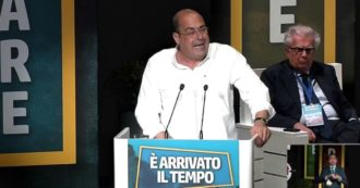 """Zingaretti: """"Errore le avventure solitarie, trasformisti seriali si nutrono di paure. Taglio dei parlamentari? Errore sottoscrivere referendum"""""""