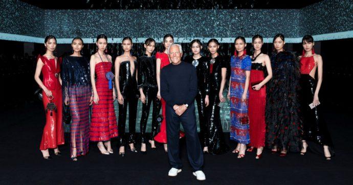 Milano Fashion Week, bilancio (emotivo) al netto del Coronavirus. Armani sfila a porte chiuse. Moncler superstar