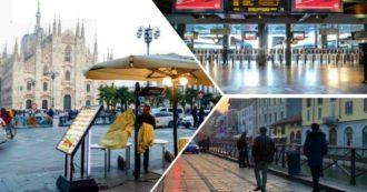 Coronavirus Milano: dall'aperitivo proibito ai mezzi vuoti fino alle code fuori dalle farmacie, la città in attesa nel silenzio ma senza panico