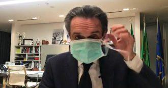 """Coronavirus, l'annuncio di Fontana: """"Una mia collaboratrice contagiata. Io non ho contratto l'infezione ma da oggi vivrò in autoisolamento"""""""