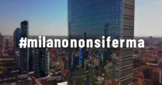 """Coronavirus, """"Non abbiamo paura, Milano non si ferma"""": lo spot del sindaco Sala"""
