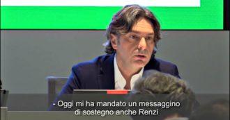 """Governo, il fuorionda di Fontana: """"Mi ha mandato un messaggino di sostegno anche Renzi. È più forte il suo odio per Conte…"""""""