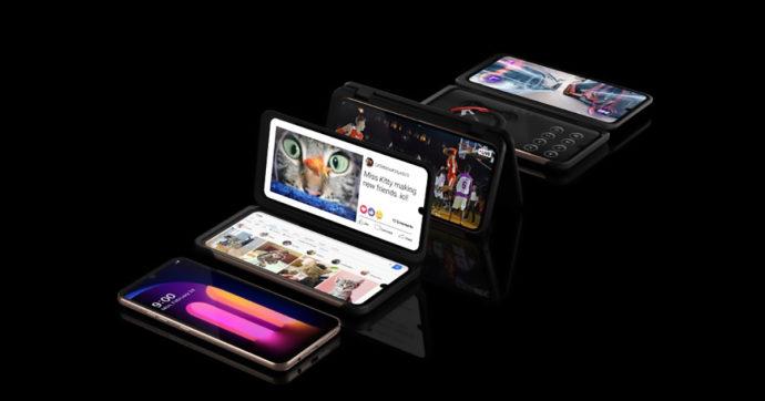 LG V60 ThinQ 5G, smartphone con doppio schermo e batteria generosa