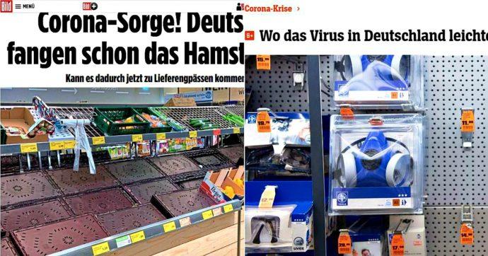 Coronavirus, contagi e psicosi ora arrivano in Germania: supermercati svuotati, mascherine a ruba e i consigli per affrontare la quarantena