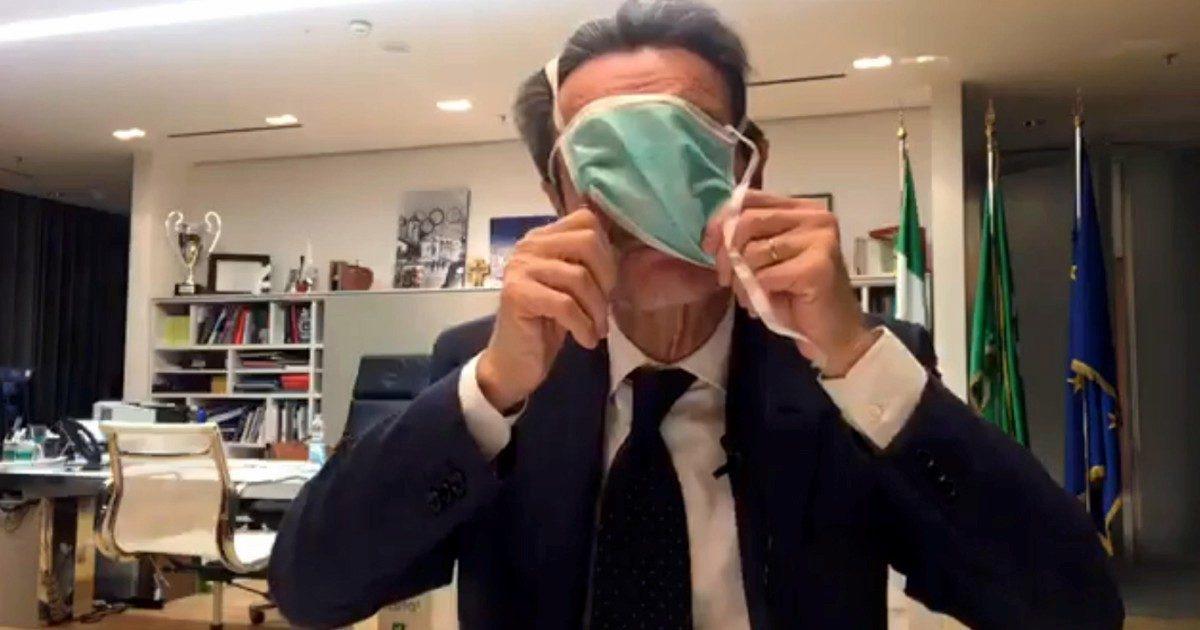 Il virus ci vede bene: la nemesi comica di Fontana e  Lega